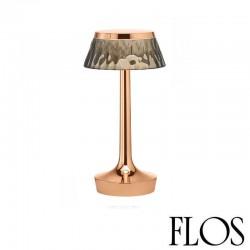 Flos Bon Jour Unplugged Lampada da Tavolo con Corona Fumè
