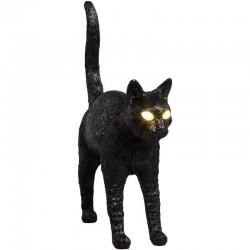 SELETTI Jobby Cat Lamp Lampada da Tavolo