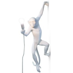 SELETTI Monkey Hanging Lamp (Left Hand) Indoor/Outdoor