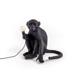 SELETTI Monkey Sitting Lamp Indoor/Outdoor