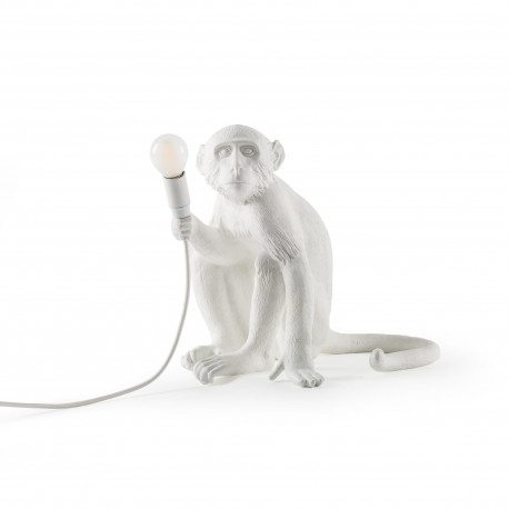 SELETTI Monkey Sitting Lamp Indoor