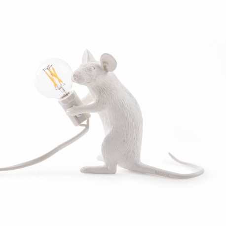 SELETTI Mouse Sitting Lamp