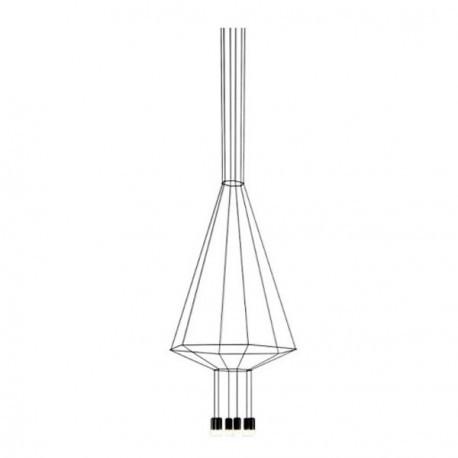 VIBIA Wireflow 6 Led Lampada a Sospensione
