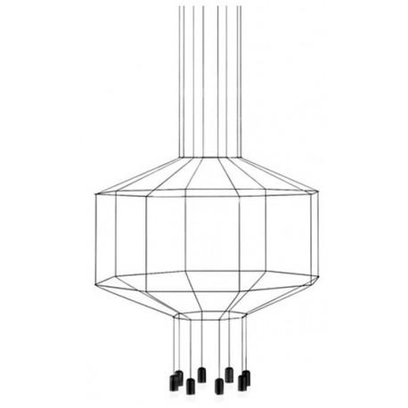 VIBIA Wireflow 8 Led Lampada a Sospensione