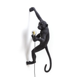 SELETTI Monkey Hanging Lamp (Right Hand) Indoor/Outdoor