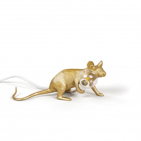 SELETTI Mouse Lying Down Lamp