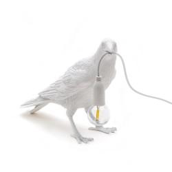 SELETTI Bird Lamp Waiting Lampada da Tavolo
