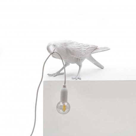 SELETTI Bird Lamp Playing Lampada da Tavolo