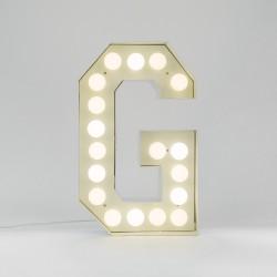 SELETTI Vegaz G Lettera Luminosa Led