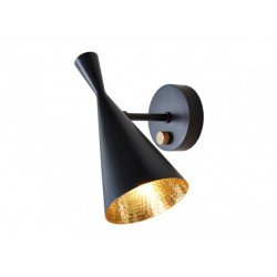 Tom Dixon Beat Wall Light Black Lampada a Parete
